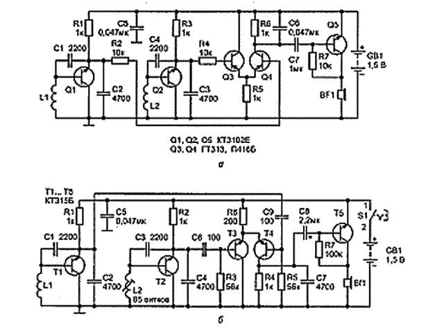 Металлоискатель на транзисторах как сделать